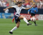 I kick like a girl? Then you better watch out! ~Mia Hamm