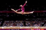 I jump like a girl? Why can't you? Gabby Douglas